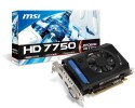 MSI AMD/ATI R7750-PMD2GD3 2 GB GDDR3 Graphics Card