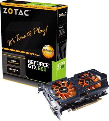 Buy ZOTAC NVIDIA GeForce GTX660 2GB 2 GB DDR5 Graphics Card: Graphics Card