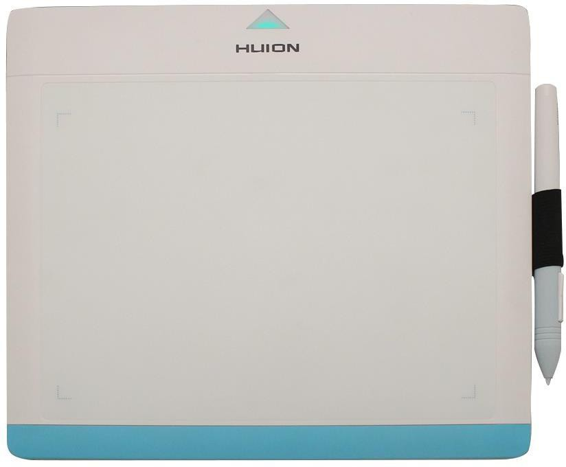 Huion 680TF-White Blue HUION-04 9.84 x 8.85 inch Graphics Tablet