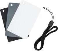 JJC 3 in 1 Grey/White Balance Set GC-2 8.5 cm x 5.4 cm Grey Card