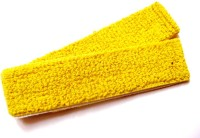 HE Retail Cotton Badminton Racket Towel  Grip (Yellow, Pack Of 2)