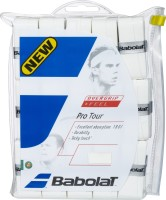Babolat Pro Tour Tacky Touch Grip (White, Pack Of 30)