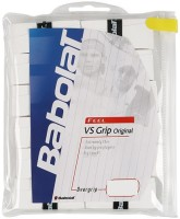 Babolat VS Grip Original Tacky Touch  Grip (White, Pack Of 12)