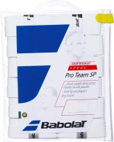 Babolat Pro Team Sp Over Grip Dry Feel Grip (White, Pack Of 12)