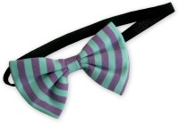 A.T.U.N. Thin Elastics Hair Band (Green, Purple)