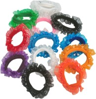 Arip Hair Rubber Band (Pack Of 12) Rubber Band Multicolor