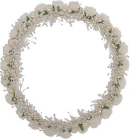 Sanjog Mesmerizing Tiara/Headwrap/Headpiece For Wedding/Birthday Head Band