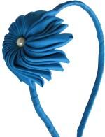 GD Hair Accessories GD Blue Flower Hair Band