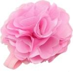 PinkXenia Hair Accessories PinkXenia Light Pink Elastic Rosset Head Band