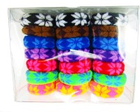 SKGB Thick Elastic Hair Band (Black, Brown, Blue, Red, Green, Pink, Purple)