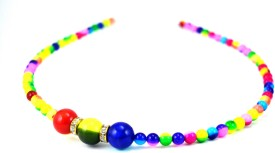 Anokhi Ada Multicolored Beads Hair Band