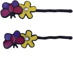 B Fashionable Hair Accessories Butterfly Embracing Flower