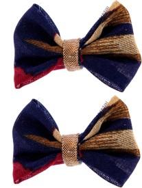 Zeroed Blue Multicoloured Hair Clip