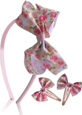 Hopscotch Hair Accessories Hopscotch Floral Pk Hair Accessory Set