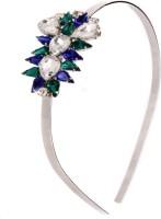 Trinketbag Glitterati Hair Band (Green, Blue)