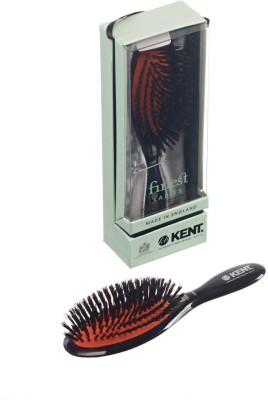 Kent Hair Brushes Kent Ruby Pure Brislte Medium Dressing & Styling Premium Brush