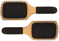 Vega Premium Wooden Paddle Hair Brush E1-PB (set Of 2)
