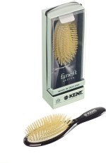 Kent Hair Brushes Kent Ruby Pure Soft White Natural Bristle Medium Dressing & Styling Premium Brush