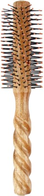 LIVE ADVENTUROUSLY Hair Brushes LIVE ADVENTUROUSLY wooden curl brush