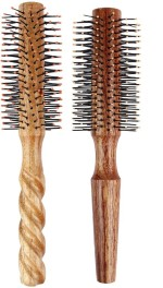 LIVE ADVENTUROUSLY Hair Brushes LIVE ADVENTUROUSLY wooden brush combo