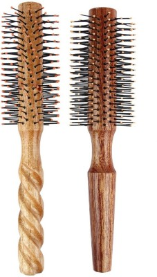 LIVE ADVENTUROUSLY Hair Brushes LIVE ADVENTUROUSLY wooden brush