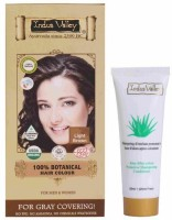 Indus Valley 100% Botanical Organic Healthier Light Brown With Free Shampoo Hair Color (Light Brown)