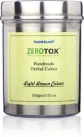 Healthbuddy Zerotox Handmade Herbal Colour Light Brown Colour 100 Gms Hair Color (Light Brown)