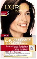 Loreal Paris Excellence Creme Hair Color (Natural Brown - 5)