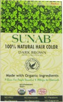 Sunab 100% Natural Dark Brown Hair Color (Dark Brown)