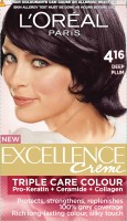 L 'Oreal Paris Excellence Creme Hair Color (Deep Plum - 4.16)