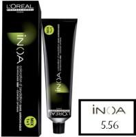 Loreal Inoa  Hair Color (5.56 Light Mahogany Brown)