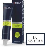 Indola Professional Zero Ammonia Hair Color (1.0 Natural Black)