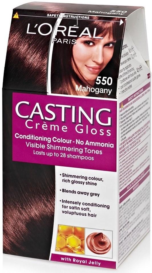 Buy Loreal Paris Casting Cream Gloss Hair Color Mahogany 550