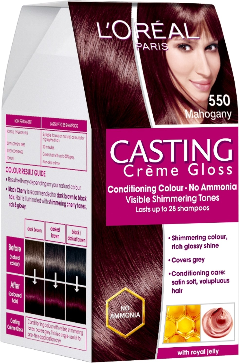 L 39Oreal Paris Casting Cream Gloss Hair Color  Price In India Buy L 3