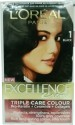 Loreal Paris Excellence Cream Hair Color - Natural Black - 1