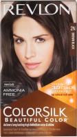 Revlon Colorsilk With 3D Technology Hair Color (Brown Black 2N)