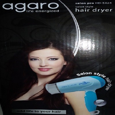 Agaro Saloon pro HD-5424 Hair Dryer (Blue)