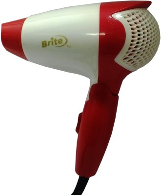 Brite Professional Portable BHD-306 Hair Dryer (White, Blue)