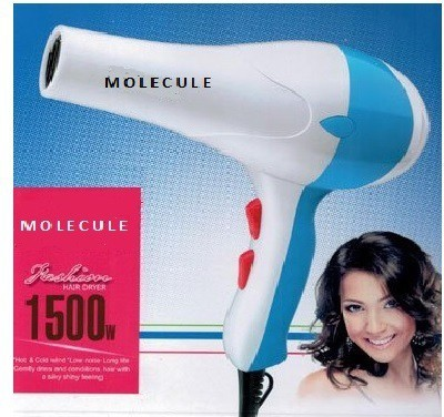 Molecule NV-333 Hair Dryer (Blue, Pink)