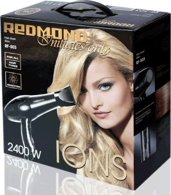 REDMOND 2400W Professional RF-503 Hair Dryer (Black)