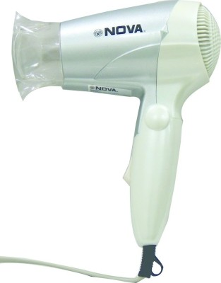 Nova Foldable NHD-2807 Hair Dryer (White)