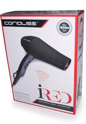 Corioliss Infrared Ionic Powerful AC Motor Professional IRed Hair Dryer (Black)
