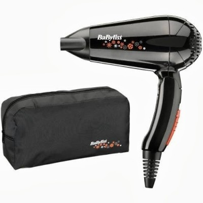 Babyliss Travel BA-5344U Hair Dryer (Black)