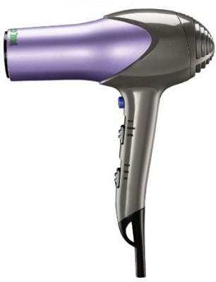 Conair You Style And Protect 1875 Watt Ceramic 2 In 1 Con-7357 Hair Dryer (Grey, Purple)