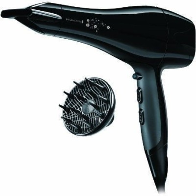 Remington Pearl AC5011 Hair Dryer (Black, White)