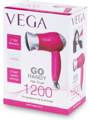Vega Go Handy VHDH-04 Hair Dryer (Pink)