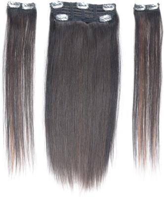 F&C Clip On  Extension  Wigs 16 inch Hair Extension