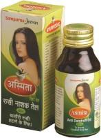 Sampurnajeevan SAMPURNAJEEVAN ASMITA ANTI DANDRUFF OIL 60ml Pack Of 2 Hair Oil (60 Ml)