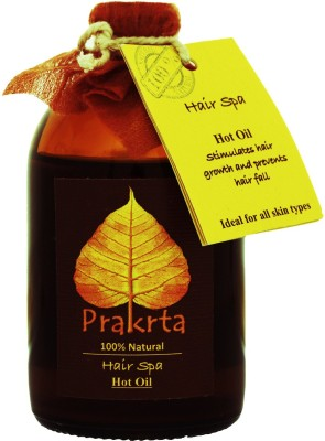 Prakrta Hair Spa - Oil Therapy To Promote Growth & Improve Hair Texture *cold Pressed Oils* Hair Oil (100 Ml)