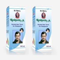Dr.Rao's Keshovin-A(Alopecia Hair Oil)(100ml)(Pack Of 2) Hair Oil (200 Ml)